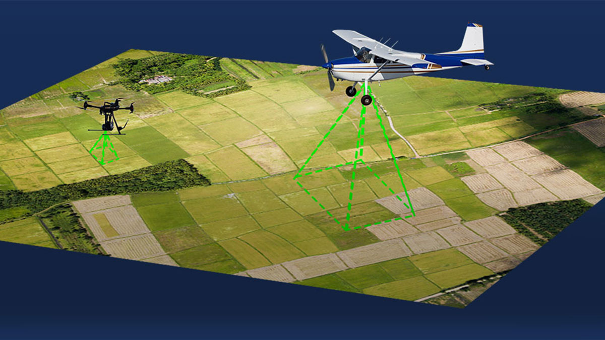 An Analysis: Manned Aircraft vs. UAVs for Mapping