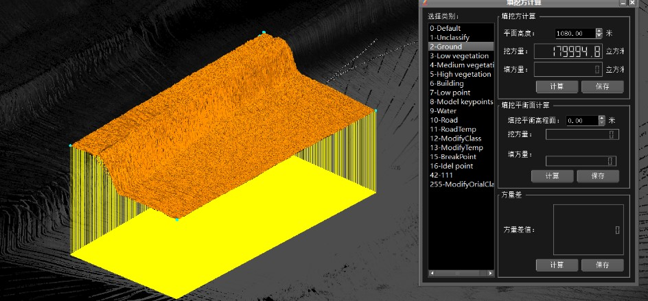 Completed hardware and software package allow quick volume calculation of open pit mines
