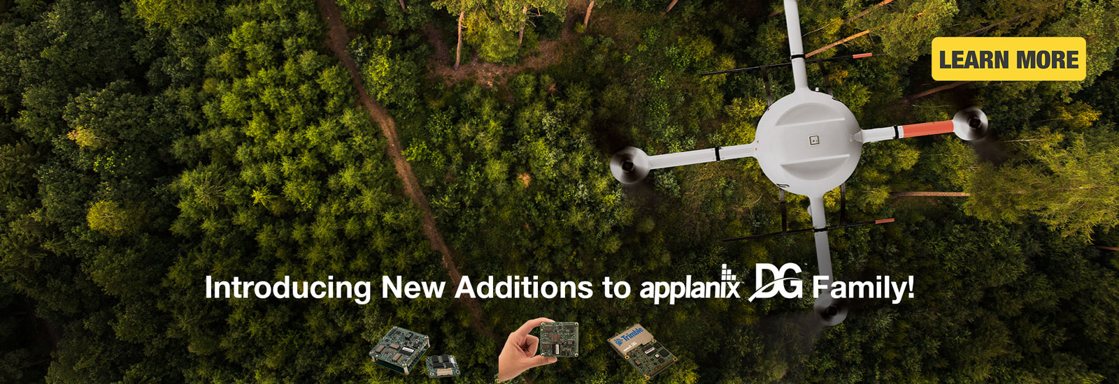 Introducing New Additions to Applanix DG Family