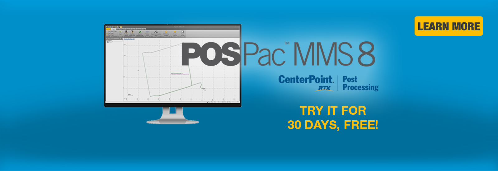 POSPac MMS 8 with CenterPoint RTX