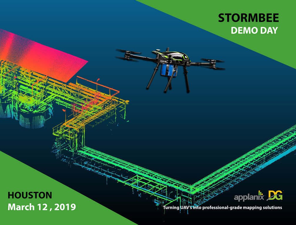 Applanix Attending Stormbee Demo Day