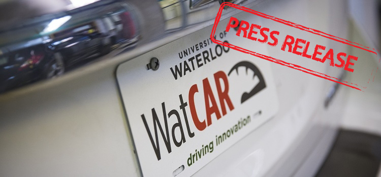 Applanix and University of Waterloo collaborate on advanced  technologies for autonomous vehicles