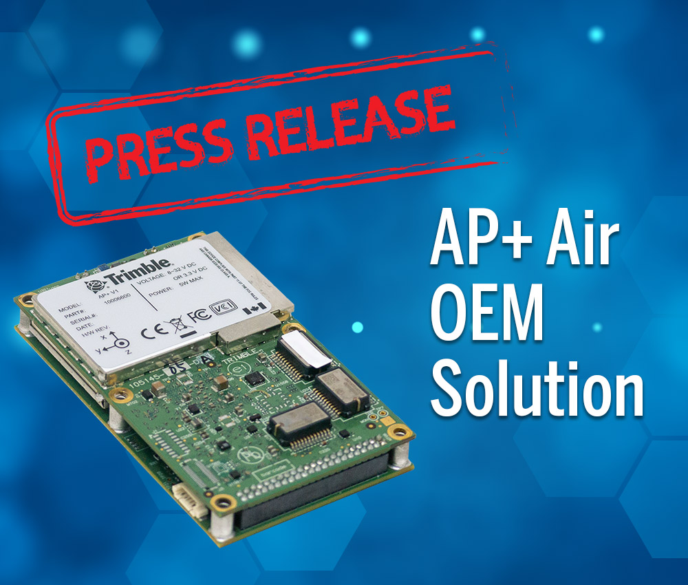 Applanix Introduces Next Generation OEM Solution for Direct Georeferencing of Airborne Sensor Data